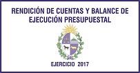 RENDICIÓN DE CUENTAS Y BALANCE DE EJECUCIÓN PRESUPUESTAL 2017